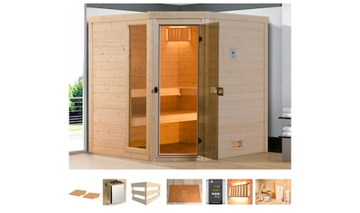 weka Sauna »Arendal 1«, 7,5 kW Bio-Kombiofen mit ext. Steuerung kaufen