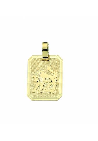 Adelia´s Kette mit Anhänger »333 Gold Sternzeichen Anhänger Stier - Set mit... kaufen