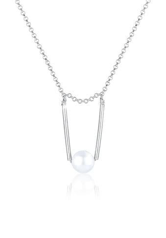 Elli Perlenkette »Erbskette Perle Swarovski® Kristalle 925er Silber« kaufen