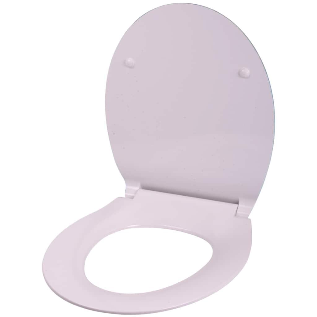 Sanilo WC-Sitz »Flat Delphin«, mit Absenkautomatik