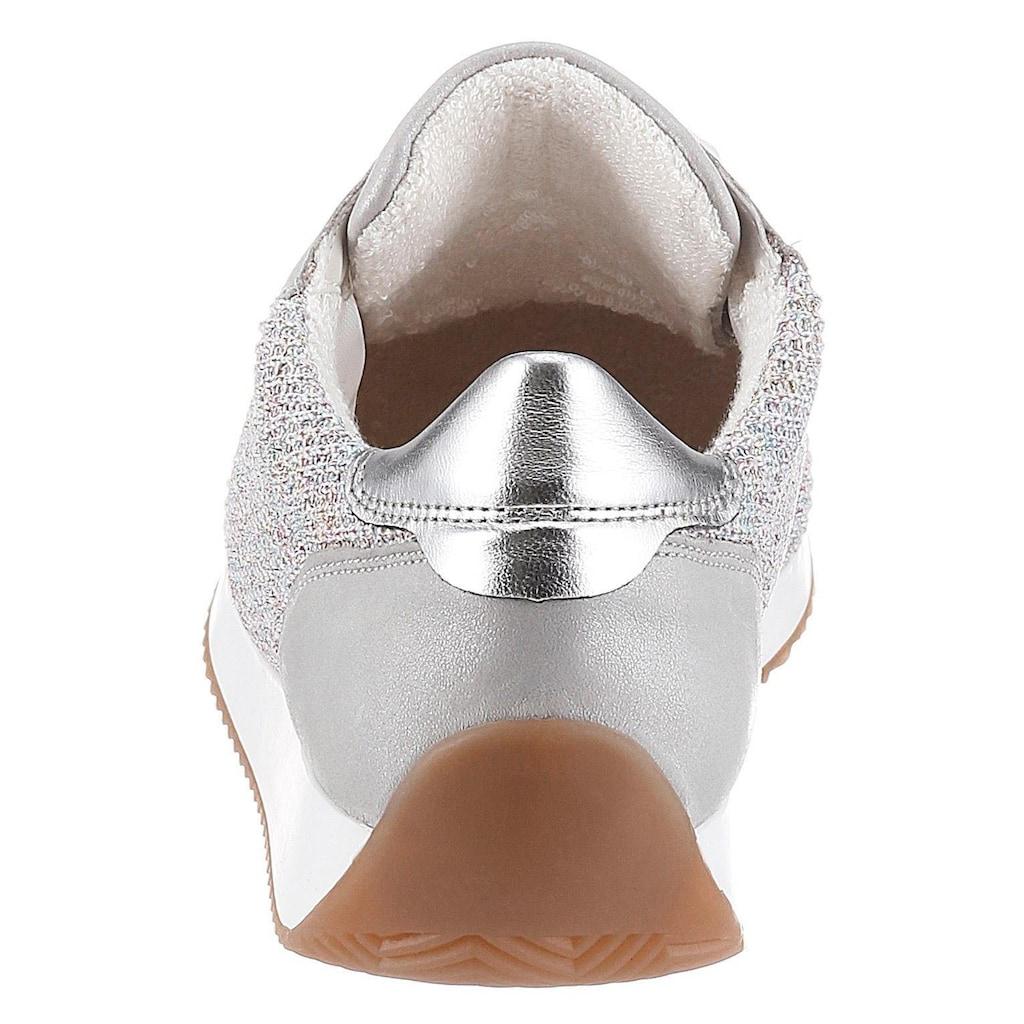 Ara Sneaker »LISSABON«, in gestrickter Optik