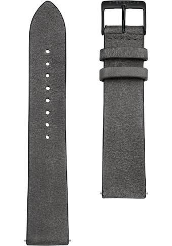 STERNGLAS Uhrenarmband »Vintage 20 beton schwarz, SBA00/312« kaufen