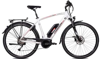 Chrisson E - Bike »E - ROUNDER Herren«, 9 Gang Shimano Alivio RD - M4000 - SGS Schaltwerk, Kettenschaltung, Mittelmotor 250 W kaufen