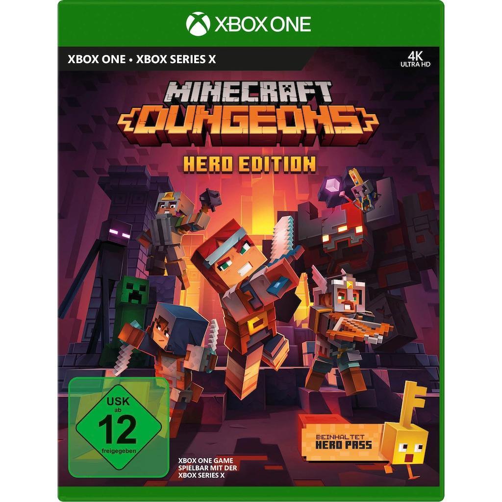Xbox One Spiel »Minecraft Dungeons Hero Edition«, Xbox One