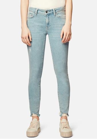 Mavi Skinny-fit-Jeans »ADRIANA-MA«, mit ausgefranster Kante am Saumabschluss kaufen