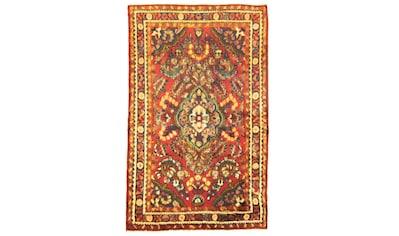 morgenland Wollteppich »Nahavand Teppich handgeknüpft rot«, rechteckig, 8 mm Höhe,... kaufen