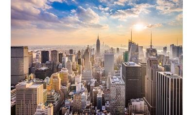PAPERMOON Fototapete »Manhattan Skyline«, Vlies, in verschiedenen Größen kaufen