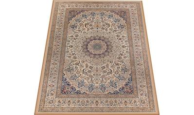 Home affaire Teppich »Luca«, rechteckig, 4 mm Höhe, Druck-Teppich, waschbar, Orient-Optik, Wohnzimmer kaufen
