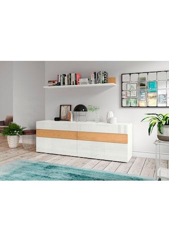 now! by hülsta Sideboard »now! vision«, Breite 211, 3 cm, mit 6 Schubladen kaufen