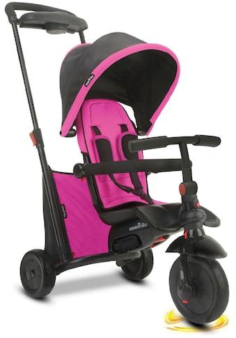 smarTrike® Dreirad »Folding Trike 500 pink«, mit verstellbarem Sonnenschutzdach kaufen
