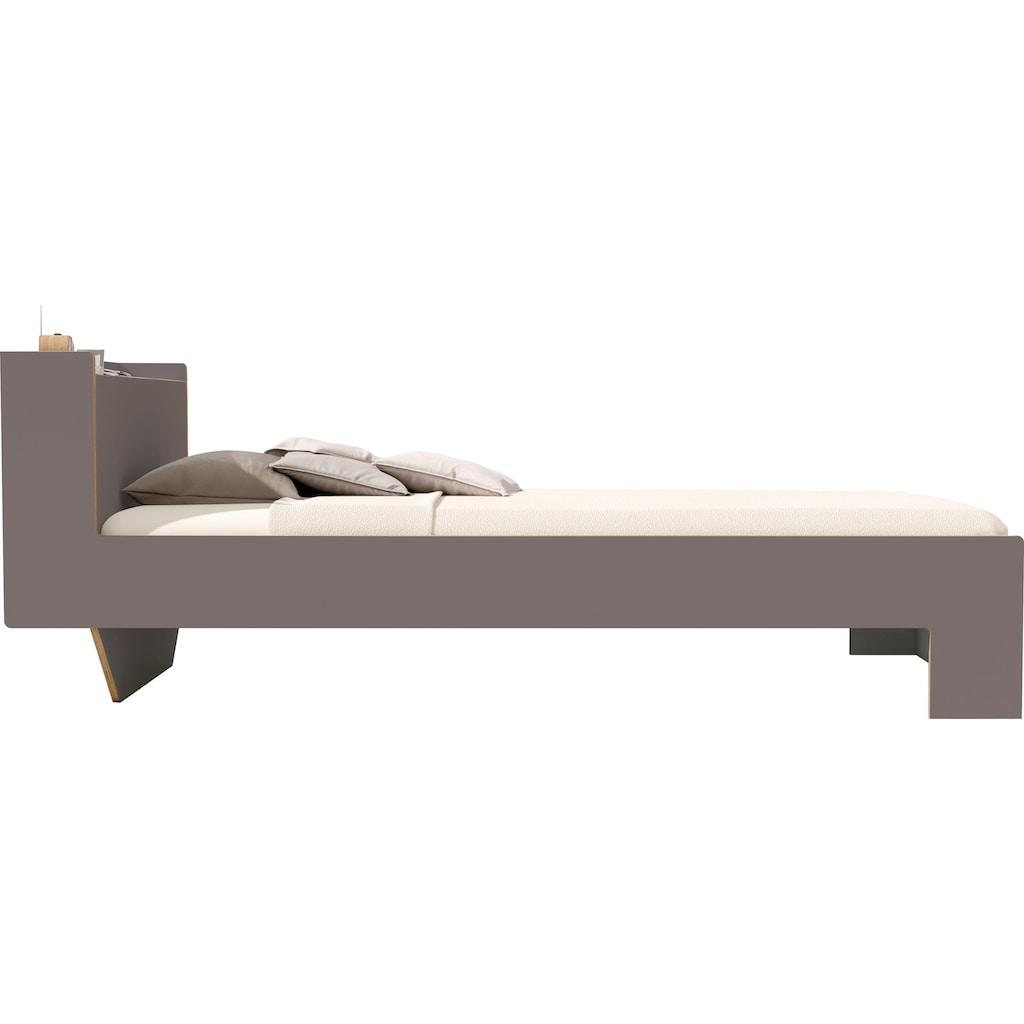 Müller SMALL LIVING Bett »NOOK«, in zwei Breiten