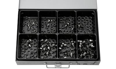 RAMSES Sortimentskasten , mit Edelstahl 1 - Ohr - Klemmen, 160 Teile kaufen