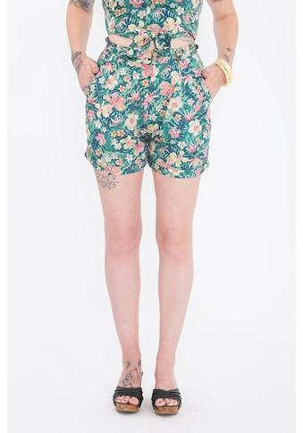 QueenKerosin Shorts, mit tropischem Muster kaufen