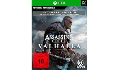 UBISOFT Spiel »Assassin's Creed Valhalla - Ultimate Edition«, Xbox One kaufen