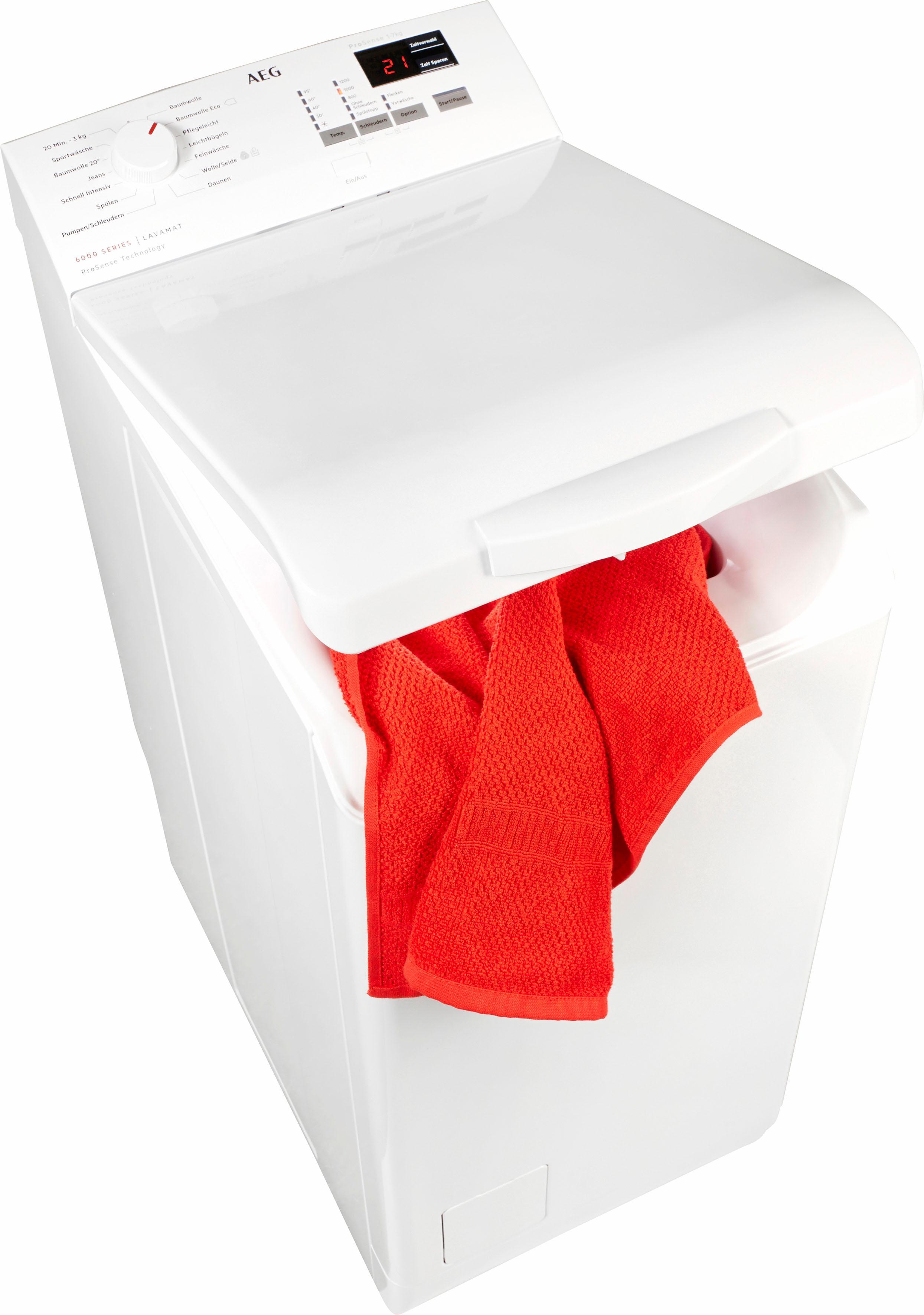 AEG Waschmaschine Toplader 6000 L6TB41270 | Bad > Waschmaschinen und Trockner > Toplader | Weiß | Aeg Electrolux