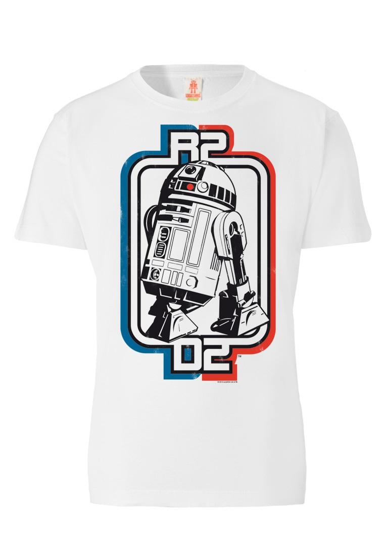 logoshirt -  T-Shirt mit coolem Frontprint