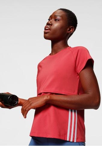 adidas Performance Funktionsshirt »3 STRIPES CAP SLV TEE« kaufen