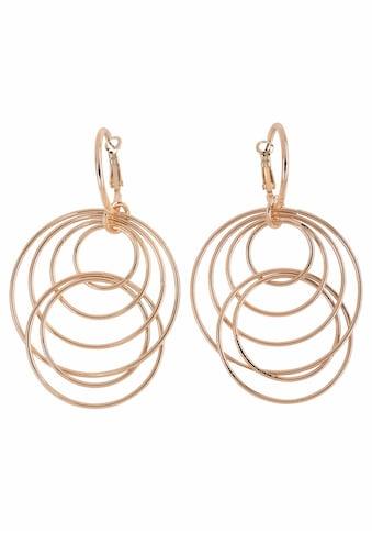 J.Jayz Paar Ohrhänger »mit beweglichen Ringen im modernen Design« kaufen