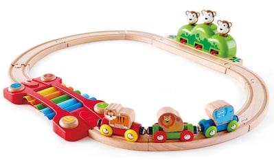 Hape Spielzeug-Eisenbahn »Kleines Tier-Eisenbahnset«, aus Holz kaufen