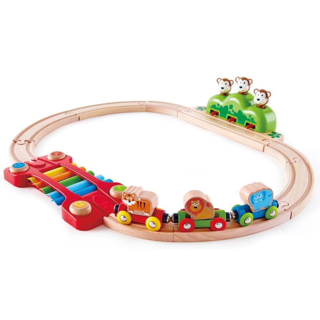 Hape Spielzeug-Eisenbahn »Kleines Tier-Eisenbahnset«, aus Holz