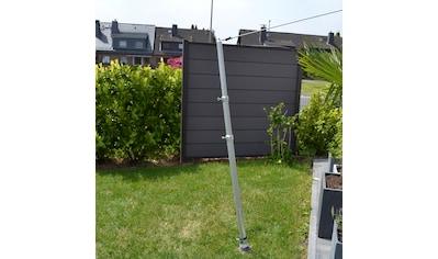FLORACORD Mast »Alu«, für Sonnensegel bis 25 m² kaufen