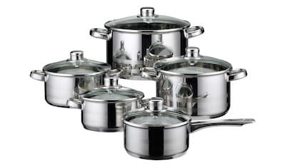 Elo  -  Meine Küche Topf - Set »Skyline« (Set, 10 - tlg.) kaufen