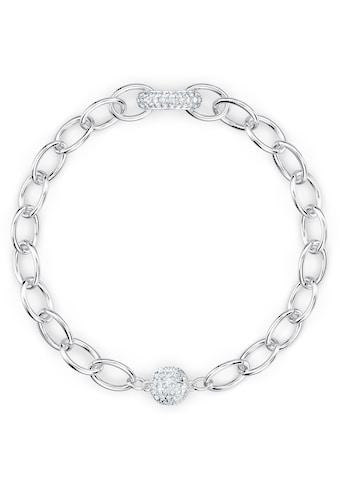 Swarovski Armband »The Elements Chain, weiss, rhodiniert, 5560662, 5572642, 5572655« kaufen