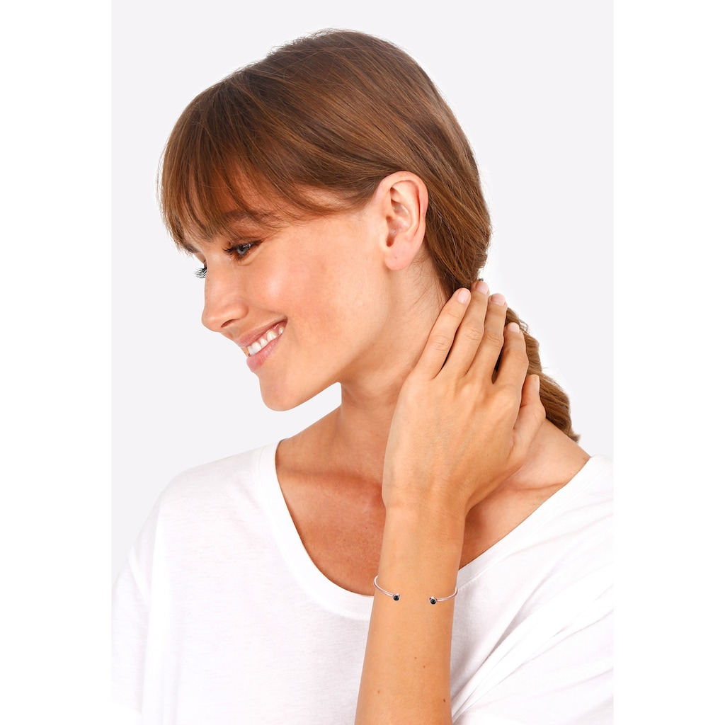 Elli Armreif »Armreif Trend Kristalle 925 Silber«