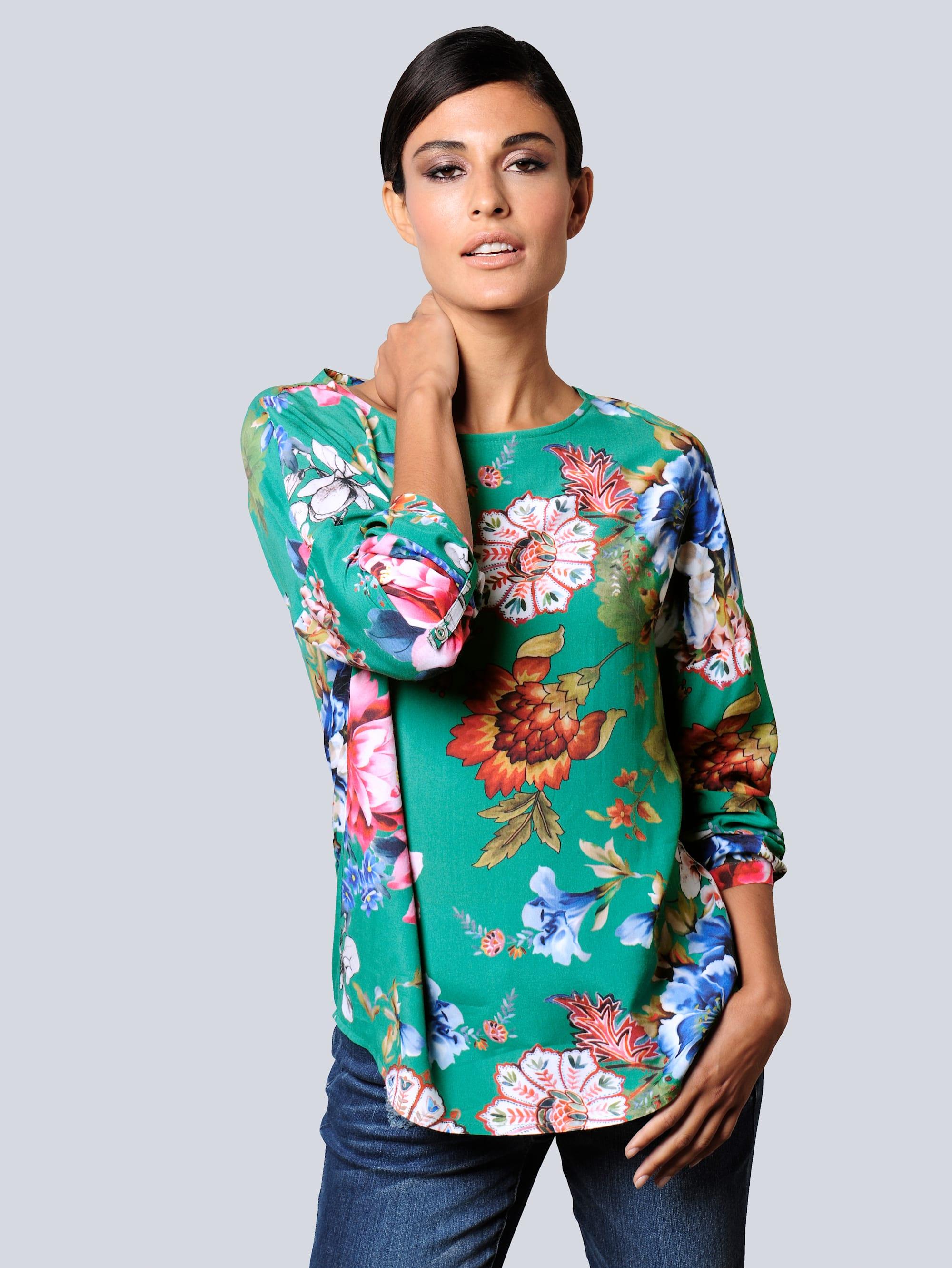 Alba Moda Bluse in topaktueller Farbgebung