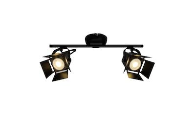 Brilliant Leuchten Movie LED Spotrohr 2flg schwarz matt kaufen