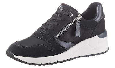 Tamaris Wedgesneaker »Rea«, im trendigen Materialmix kaufen