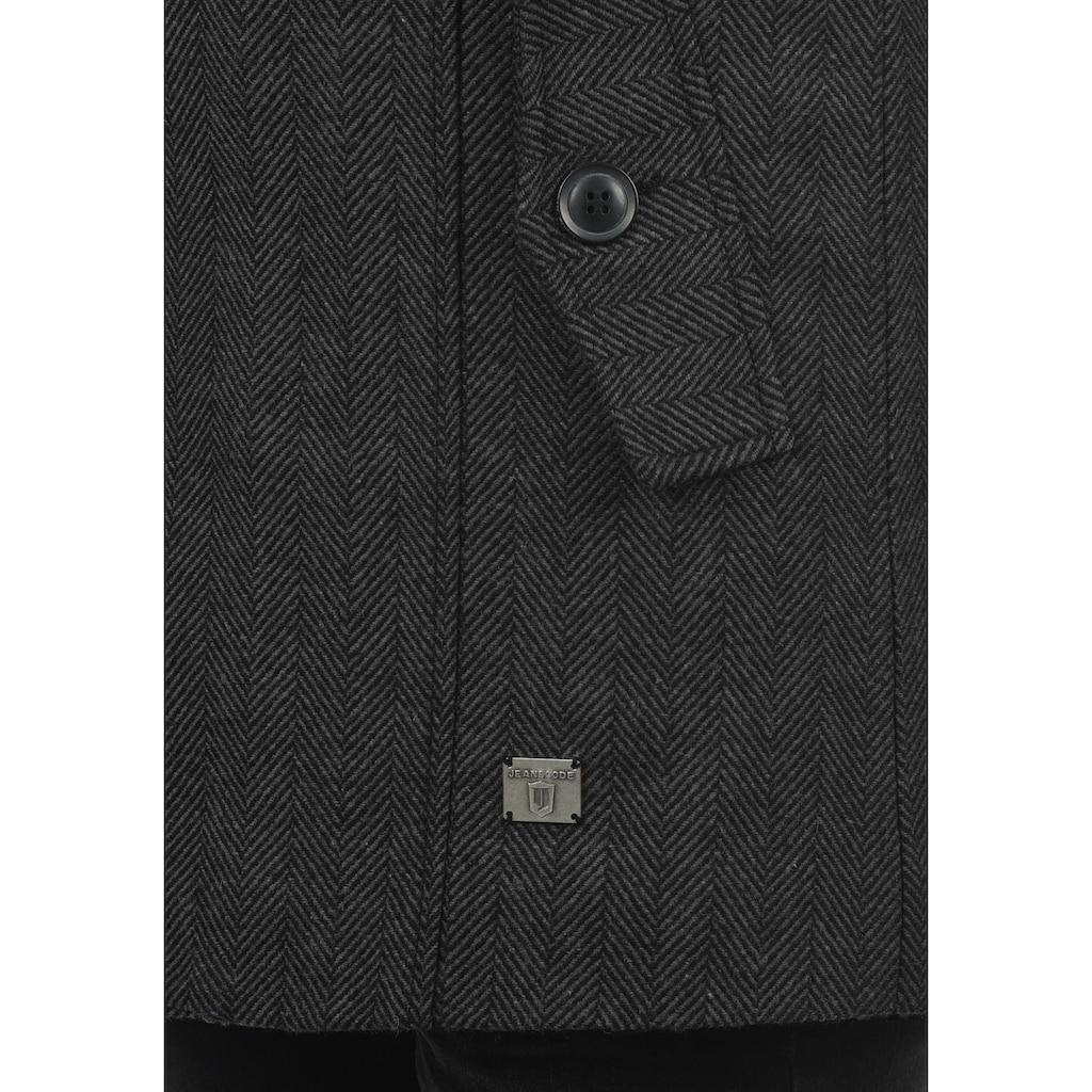 Indicode Kurzmantel »Brandan«, Mantel mit Stehkragen