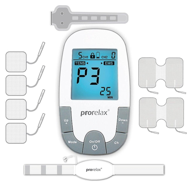 prorelax TENS-EMS-Gerät »85835 SUPER DUO Plus«