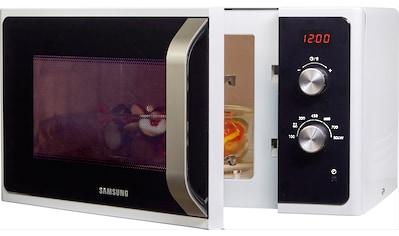 Samsung, Mikrowelle »MS23F300EEW/EG«, Mikrowelle kaufen