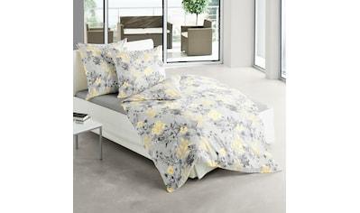 TRAUMSCHLAF Bettwäsche »Hamburg«, florales Design auf Mako-Satin kaufen