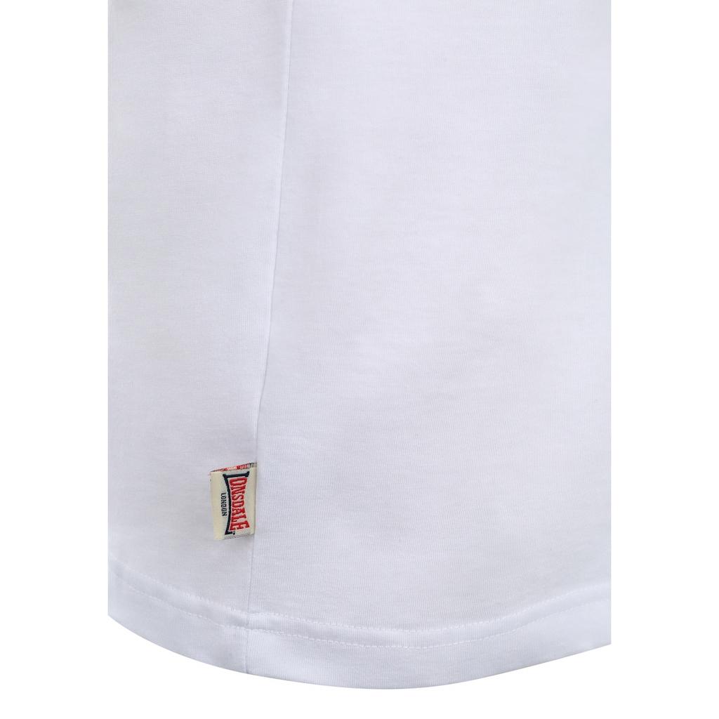 Lonsdale T-Shirt, mit großem Frontprint