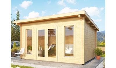 WOODFEELING Gartenhaus »Stavanger 1«, BxT: 400x360 cm kaufen
