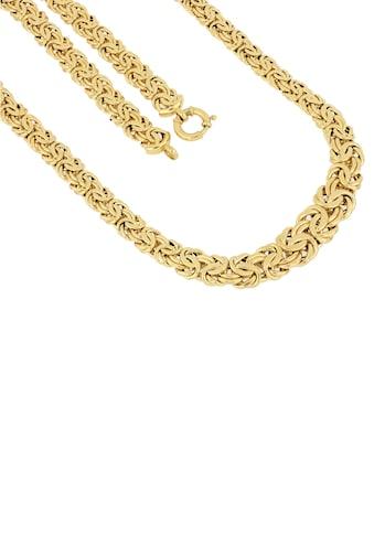 Firetti Goldkette »Prächtige Königskettengliederung, 10,5 mm  -  15,2 mm breit im Verlauf« kaufen