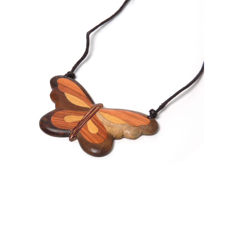 COLLEZIONE ALESSANDRO Lange Kette »Schmetterling, C2313-F30«