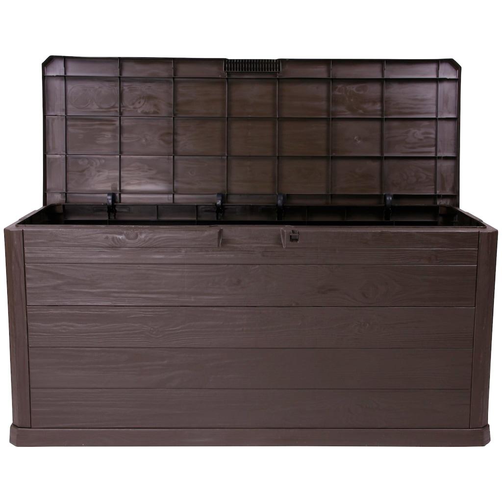 ONDIS24 Kissenbox »Madera«, 300 Liter, Kunststoff