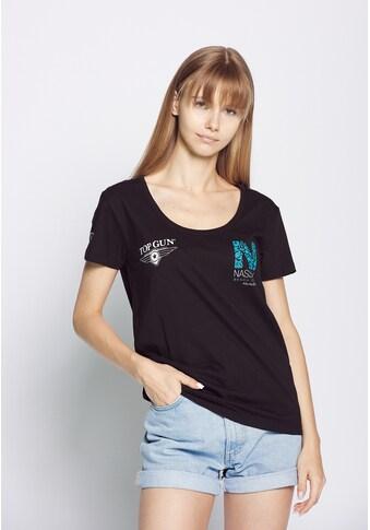 TOP GUN T-Shirt »NB20124«, sportlicher Schnitt kaufen