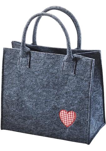 locker Aufbewahrungstasche »Rotes Herz« kaufen