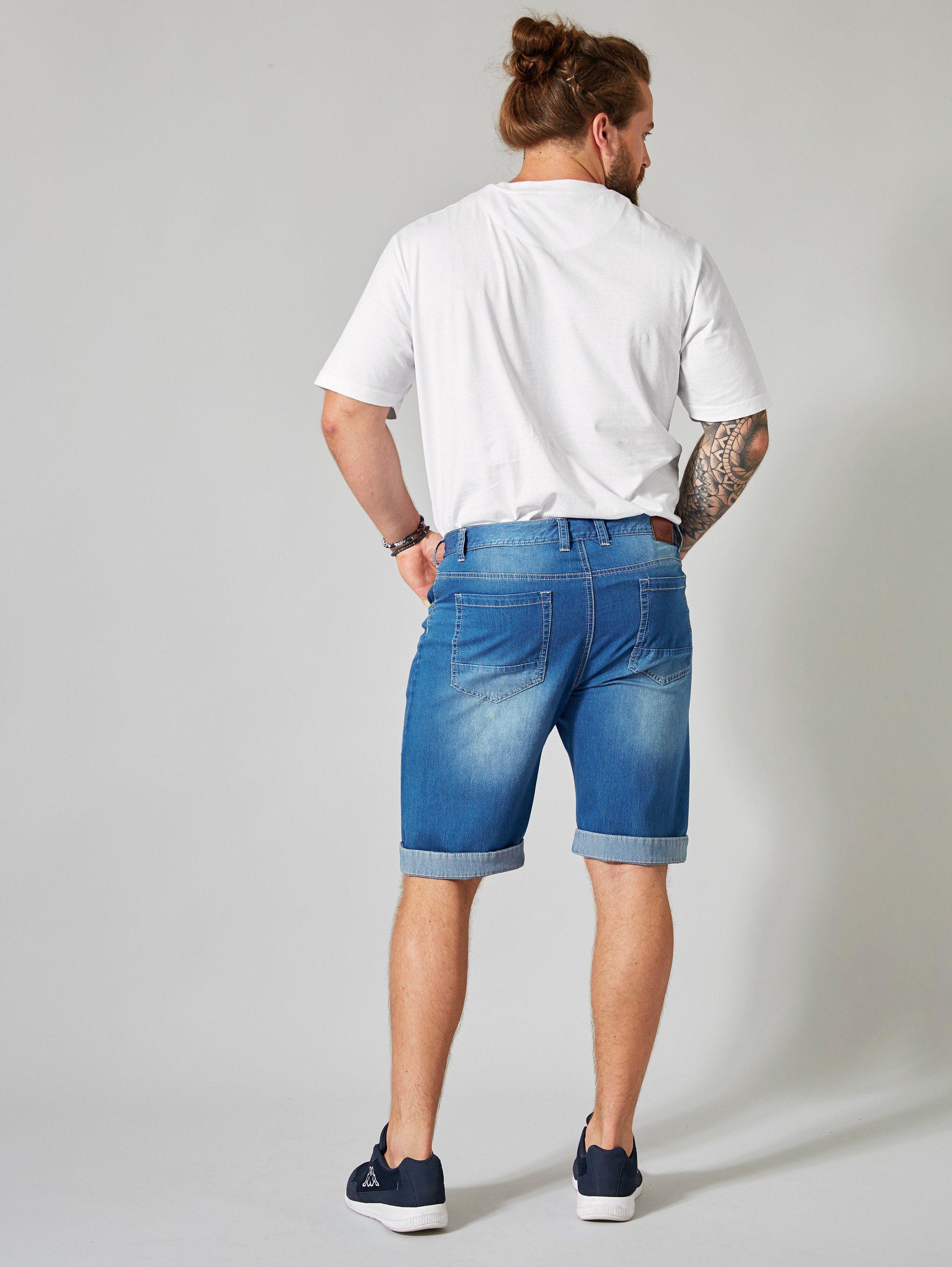 Men Plus by Happy Size Jeansbermuda | Bekleidung > Shorts & Bermudas > Jeans Bermudas | Men Plus By Happy Size