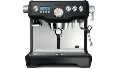 Sage Espressomaschine the Dual Boiler, SES920BTR, Black Truffle kaufen