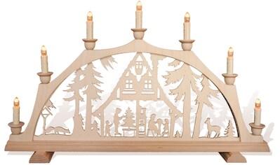 """rauta Schwibbogen """"""""Im Waldhaus ist Weihnachten"""""""", (1 - teilig) kaufen"""