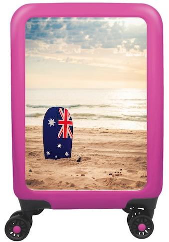 """meinTrolley Hartschalen - Trolley """"Australian Beach, 77 cm"""", 4 Rollen kaufen"""