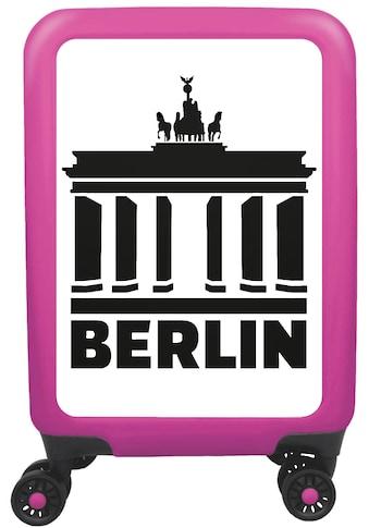 """meinTrolley Hartschalen - Trolley """"Berlin, 77 cm"""", 4 Rollen kaufen"""