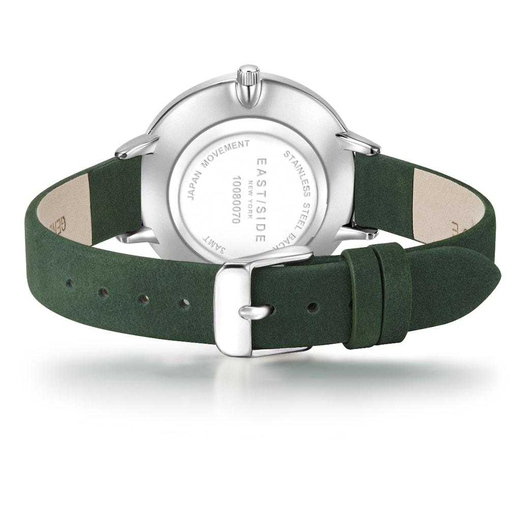 Eastside Quarzuhr »ES310«, (1 tlg.), mit Echtleder-Armband