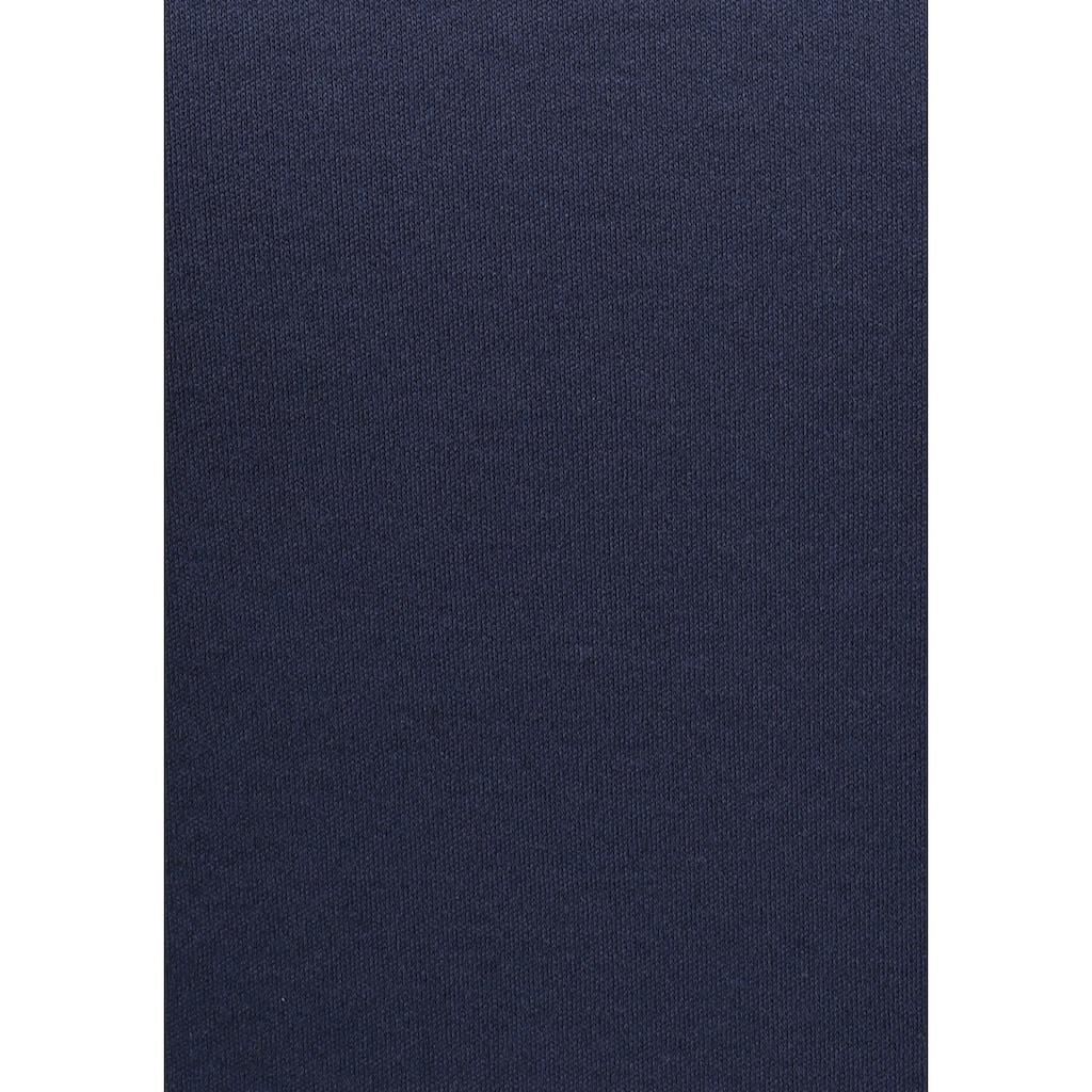 KangaROOS Sweatshirt, im Colorblocking-Design mit Pünktchen