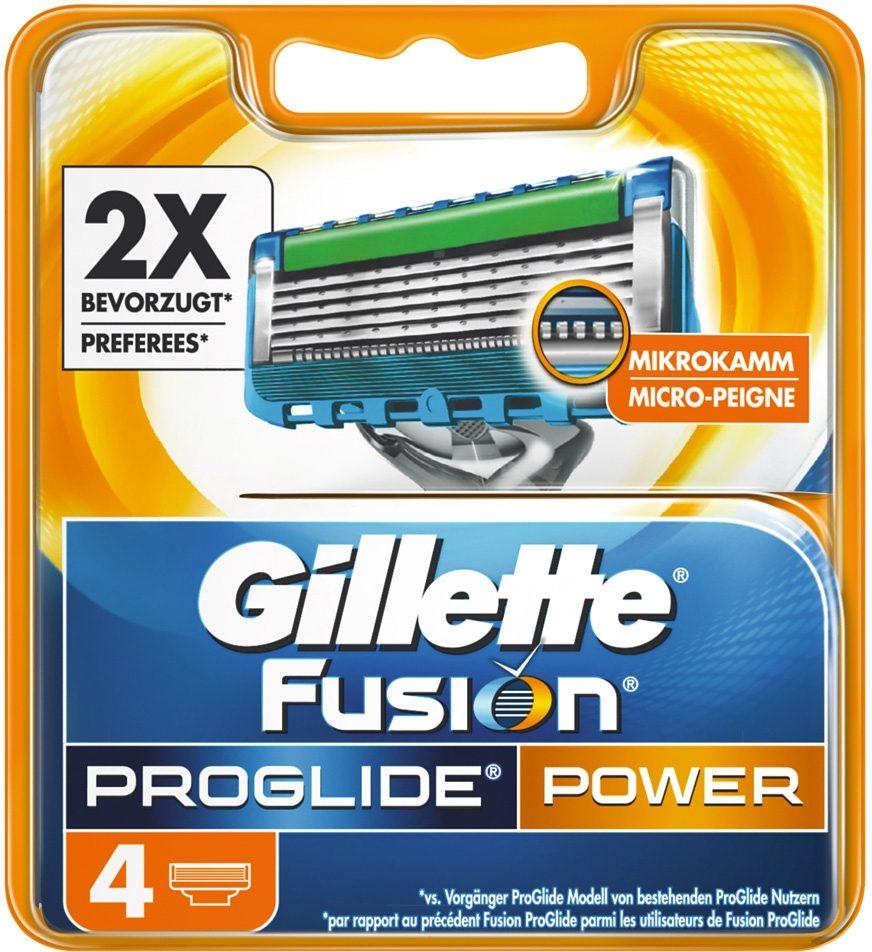Gillette Fusion ProGlide Power Rasierklingen (4 Stck) Preisvergleich